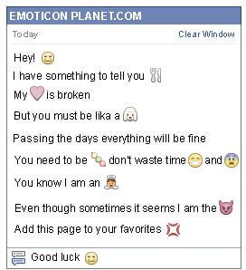 Conversation with emoticon Cat for Facebook