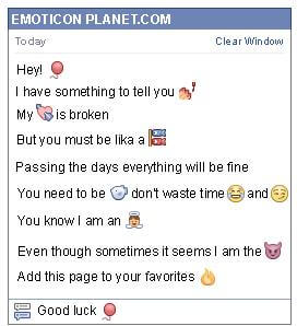 How To Make Happy Birthday Emoticon On Facebook