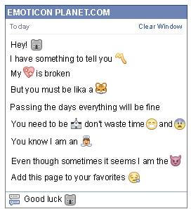 Conversation with emoticon Koala for Facebook