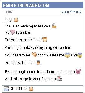 Conversation with emoticon Old Man for Facebook