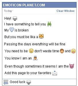 How to make Sheep Emoticon on Facebook