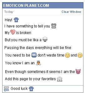 Conversation with emoticon Shirt for Facebook