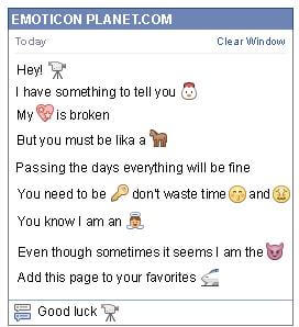 Conversation with emoticon Video Camera for Facebook